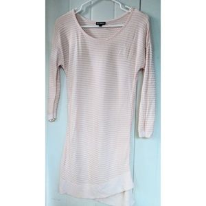 Like new! Pink Express Ribbed Sweater